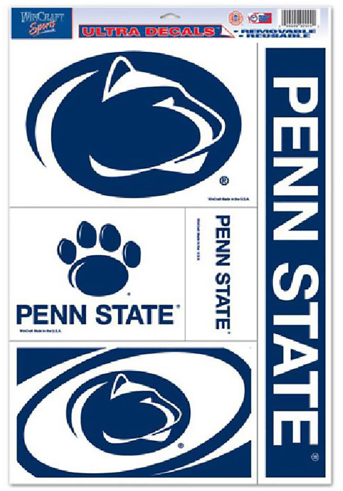 Penn State Nittany Lions 11x17 Ultra Sheet Decal - Image 1