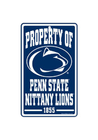 Penn State Nittany Lions Property Of Sign