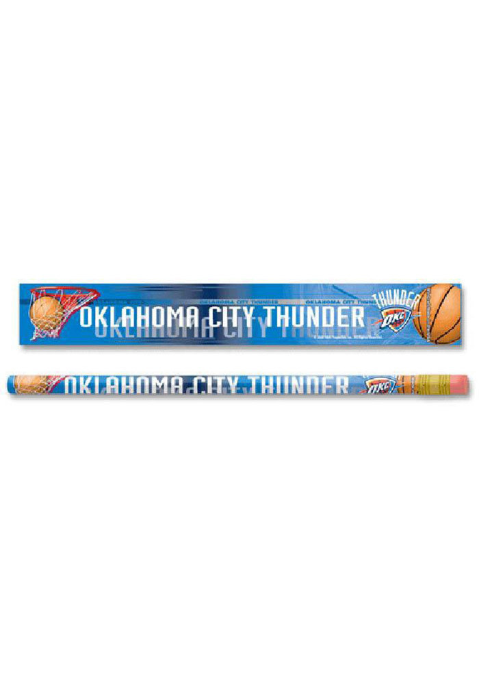 Oklahoma City Thunder 6 Pack Pencil - Image 1