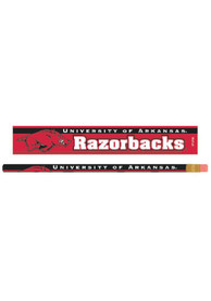 Arkansas Razorbacks 6 Pack Pencil