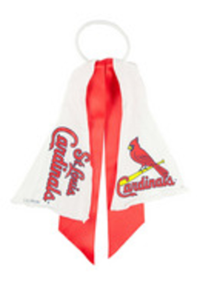 St Louis Cardinals Ponytail Holder Youth Hair Scrunchie - Image 3