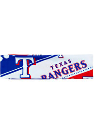 Texas Rangers Stretch Patterned Womens Headband