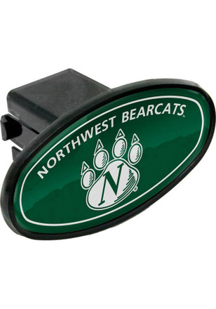 Northwest Missouri State Bearcats Plastic Oval Car Accessory Hitch Cover