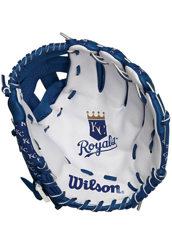 Kansas City Royals 10` Youth Balls and Helmets Glove - Image 2