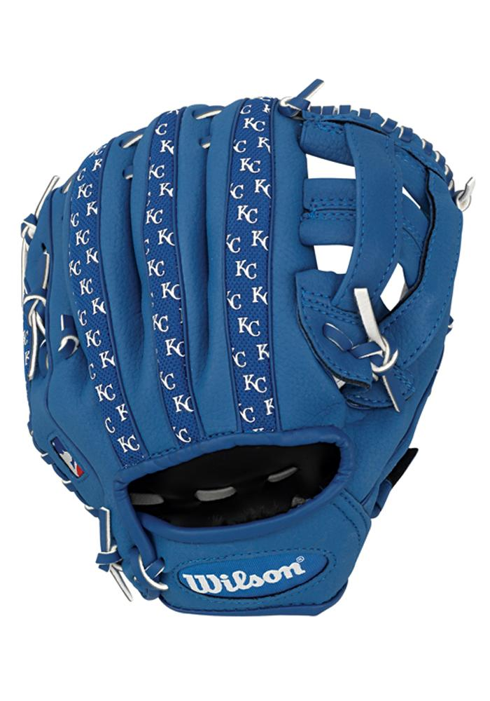 Kansas City Royals 10` Youth Balls and Helmets Glove - Image 3