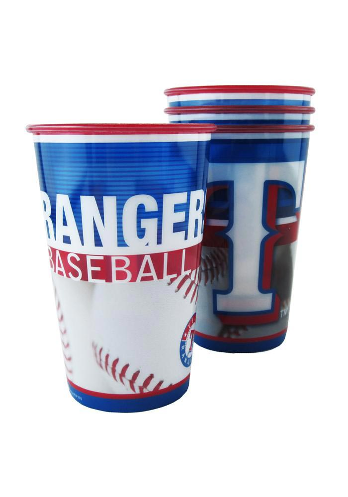 Texas Rangers Disposable Cups - Image 1