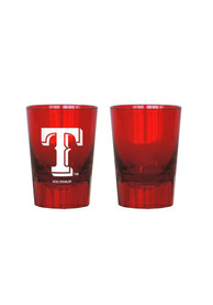 Texas Rangers Shot Glass
