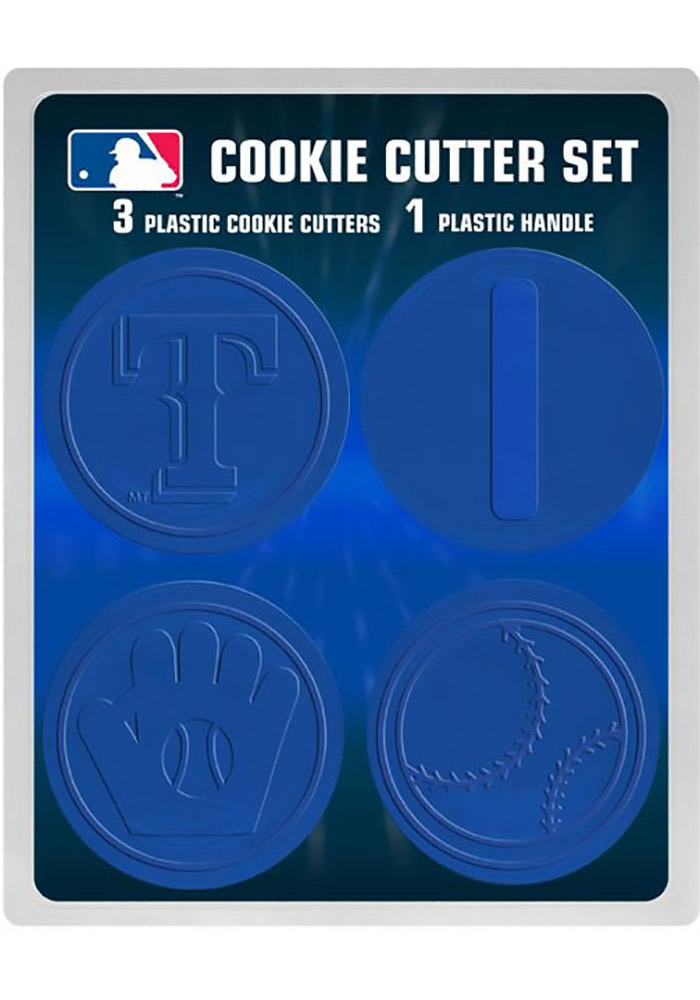 Texas Rangers 4pk Cookie Cutters - Image 1