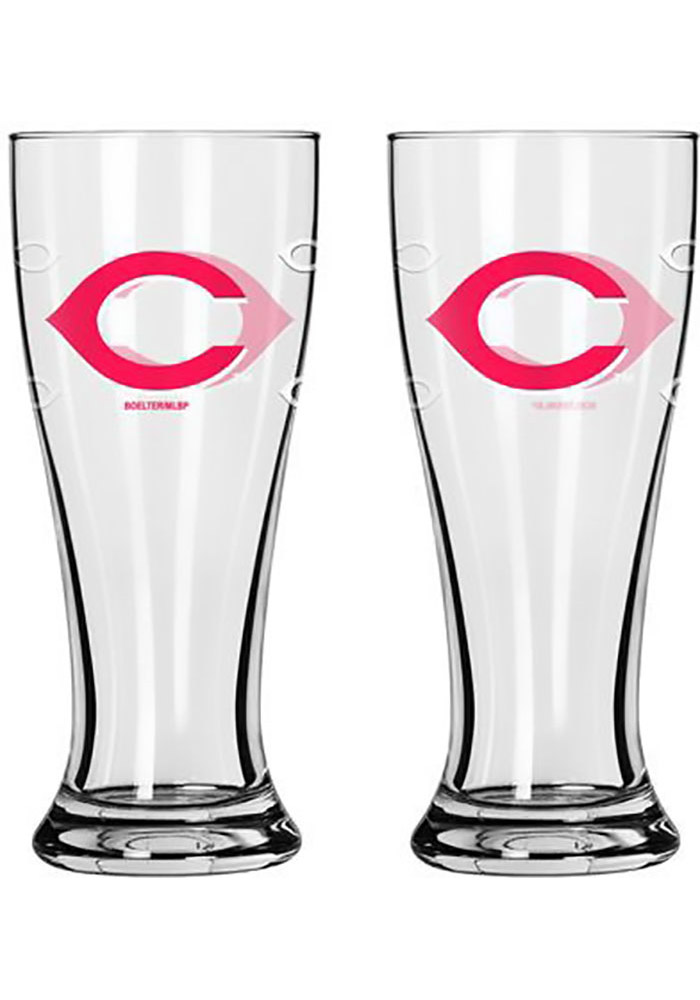 Cincinnati Reds 2.5oz Mini Pilsner Shot Glass - Image 1