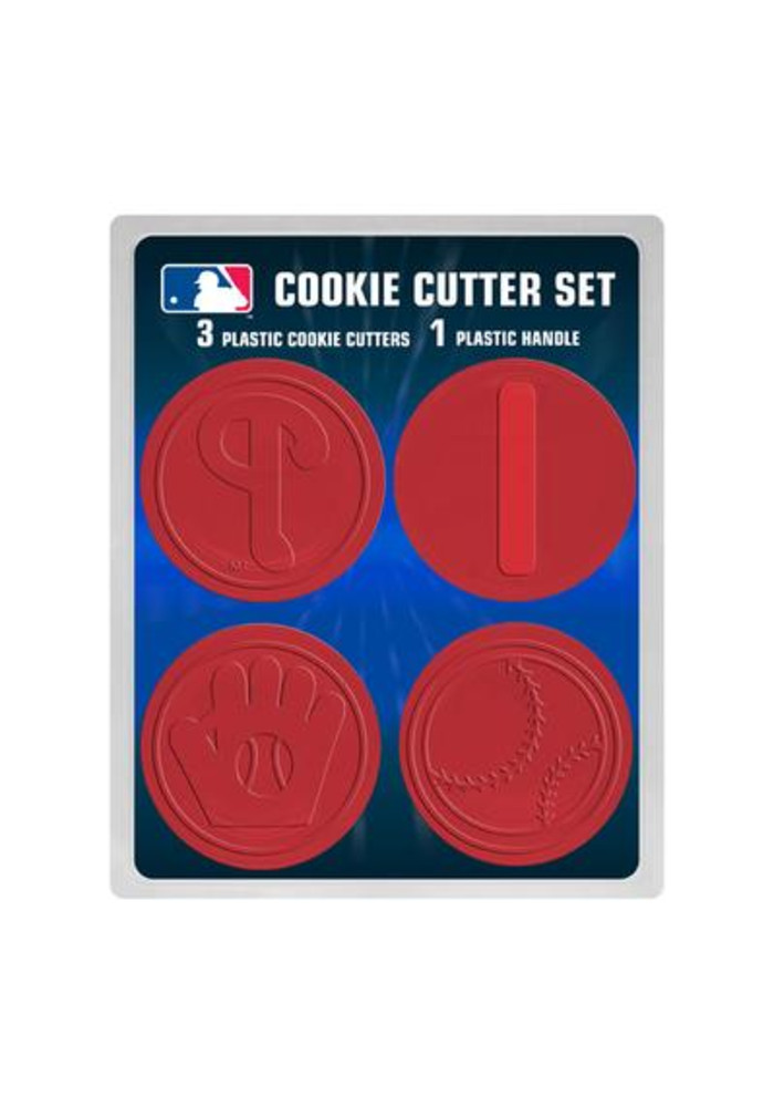 Philadelphia Phillies 3pc Cookie Cutters - Image 2
