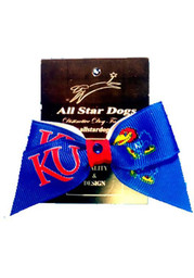 Kansas Jayhawks Blue Pet Bow