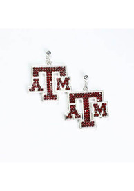 Texas A&M Aggies Bling Womens Earrings