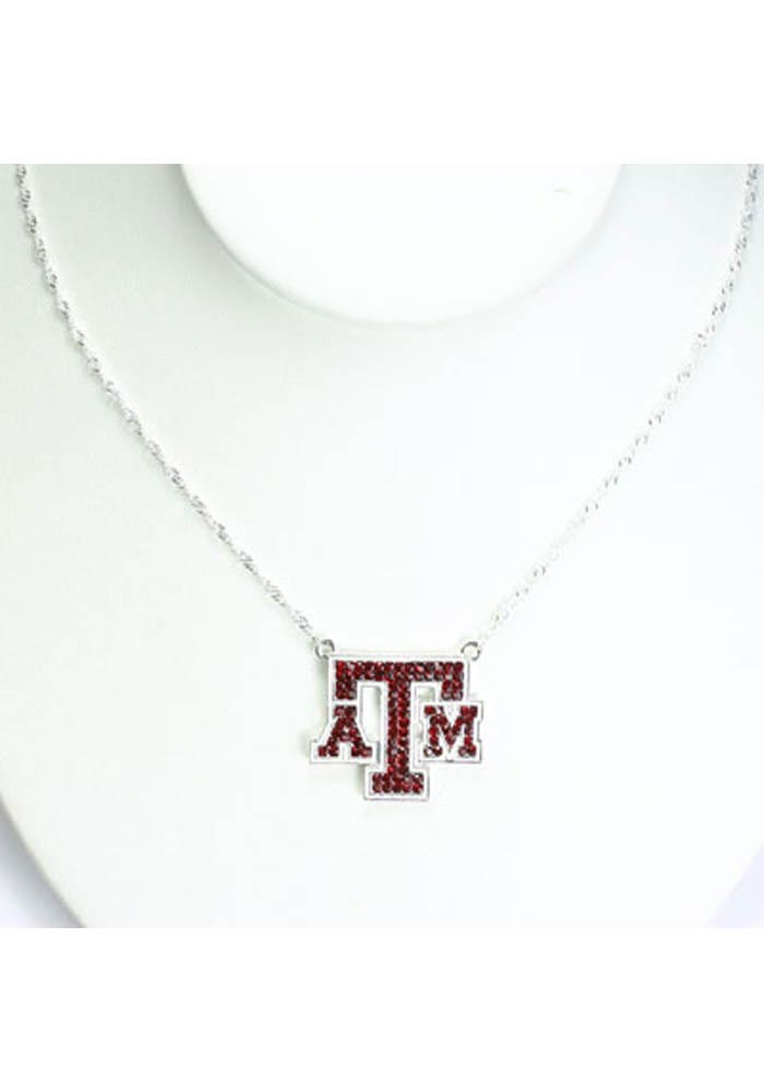 Texas A&M Aggies Bling Necklace - Image 1