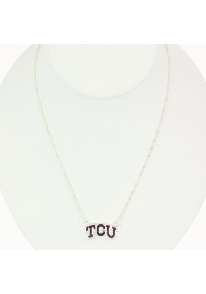 TCU Horned Frogs Bling Necklace - Image 1