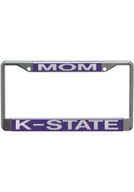 K-State Wildcats silver Acrylic License Frame