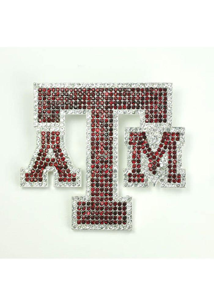 Texas A&M Aggies Souvenir Bling Pin - Image 1