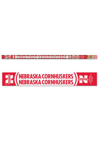 Nebraska Cornhuskers 6 Pack Pencil