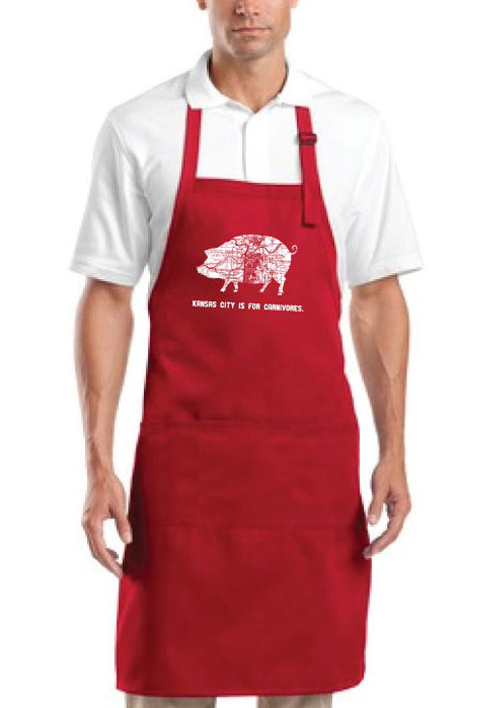 Kansas City KC Is For Carnivores BBQ Apron - Image 1