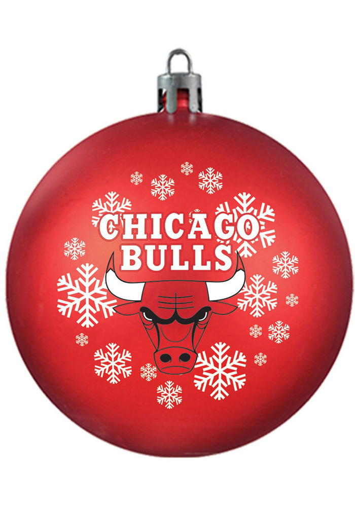 Chicago Bulls Shatterproof Ornament - Image 1