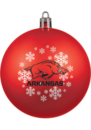 Arkansas Razorbacks Shatterproof Ornament