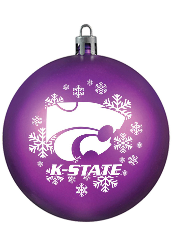K-State Wildcats Shatterproof Ornament - Image 1
