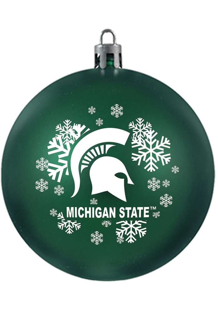 Michigan State Spartans Shatterproof Ornament