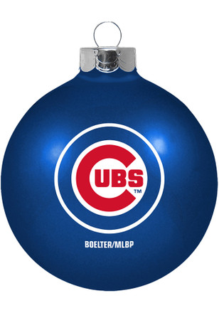 Chicago Cubs Player Glass Ball Ornament