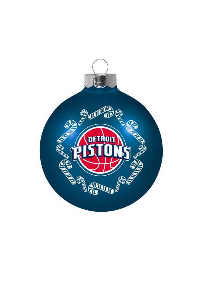 Detroit Pistons Traditional Ornament - Image 1