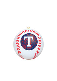 Texas Rangers Replica Ball Ornament