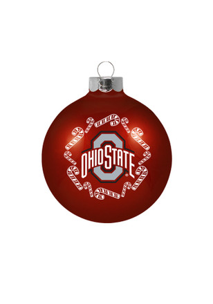Ohio State Buckeyes Traditional Glass Ball Ornament