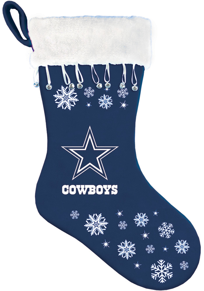 Dallas Cowboys Snowflake Stocking - Image 1
