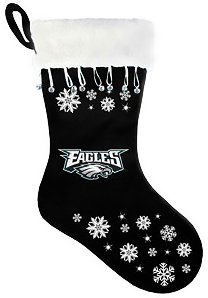 Philadelphia Eagles Snowflake Stocking - Image 1