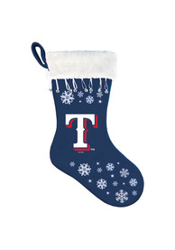 Texas Rangers Snowflake Stocking