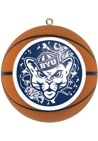 BYU Cougars Basketball Ornament