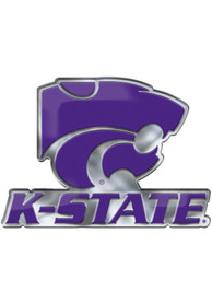 Sports Licensing Solutions K-State Wildcats Aluminum Car Emblem - Purple