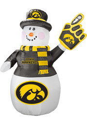 Iowa Hawkeyes White Outdoor Inflatable 7 Ft Snowman