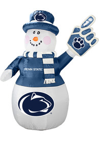 Penn State Nittany Lions White Outdoor Inflatable 7 Ft Snowman