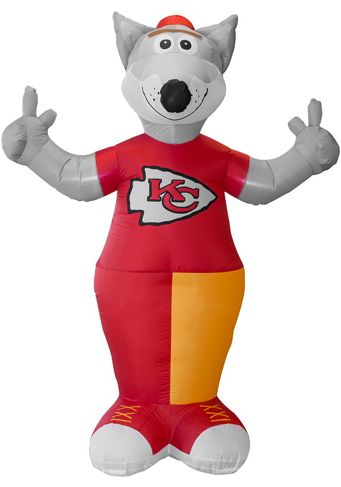 Kansas City Chiefs Red Outdoor Inflatable Team Inflatable Mascot - Image 1