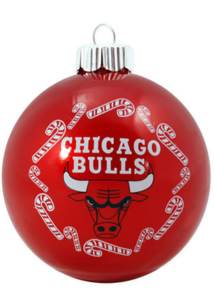 Chicago Bulls Traditional Glass Ball Ornament