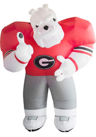 Georgia Bulldogs Red Outdoor Inflatable 7 Ft Team Mascot