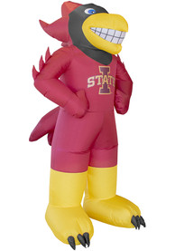 Iowa State Cyclones Red Outdoor Inflatable 7 Ft Team Mascot