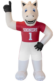 Oklahoma Sooners Crimson Outdoor Inflatable 7 Ft Team Mascot