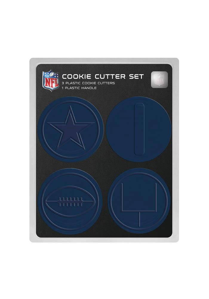 Dallas Cowboys 4pk Cookie Cutters - Image 1