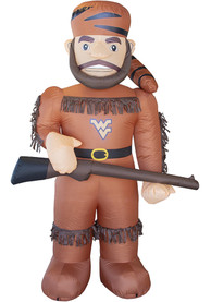 West Virginia Mountaineers Brown Outdoor Inflatable 7 Ft Team Mascot