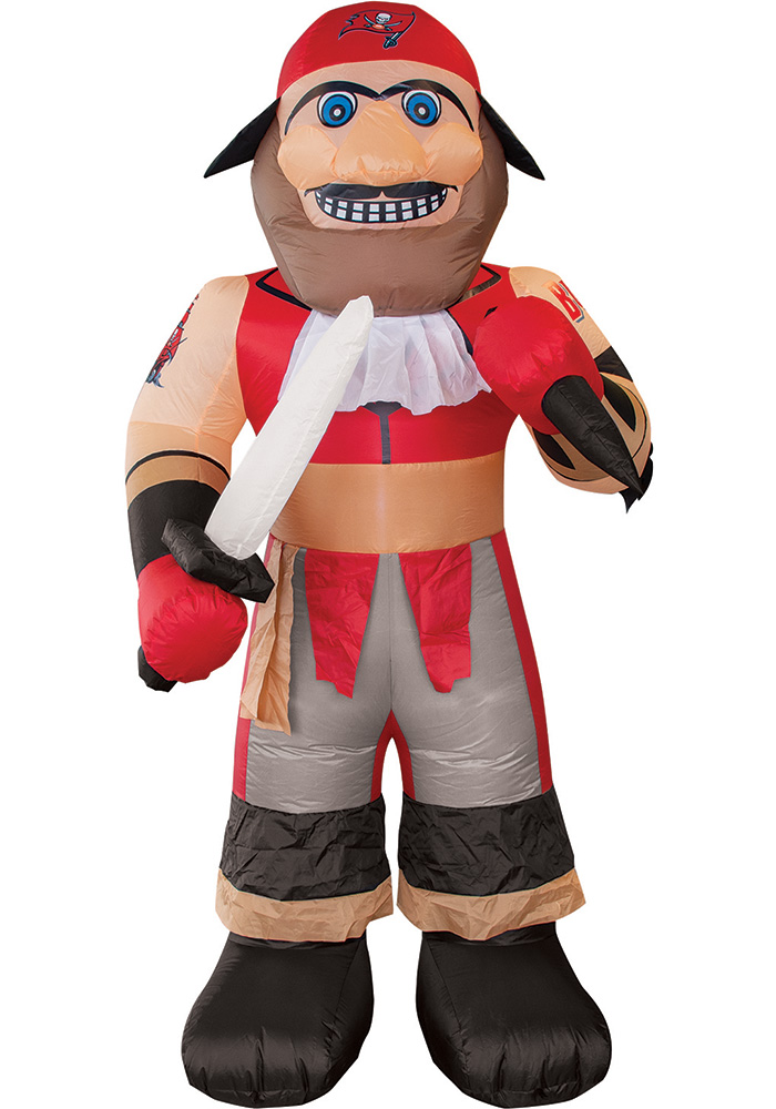 Tampa Bay Buccaneers Red Outdoor Inflatable 7 Ft Team Mascot - Image 1