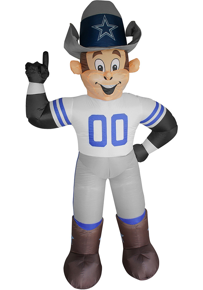 Dallas Cowboys White Outdoor Inflatable 7 Ft Team Mascot - Image 1