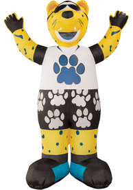 Jacksonville Jaguars Yellow Outdoor Inflatable 7 Ft Team Mascot