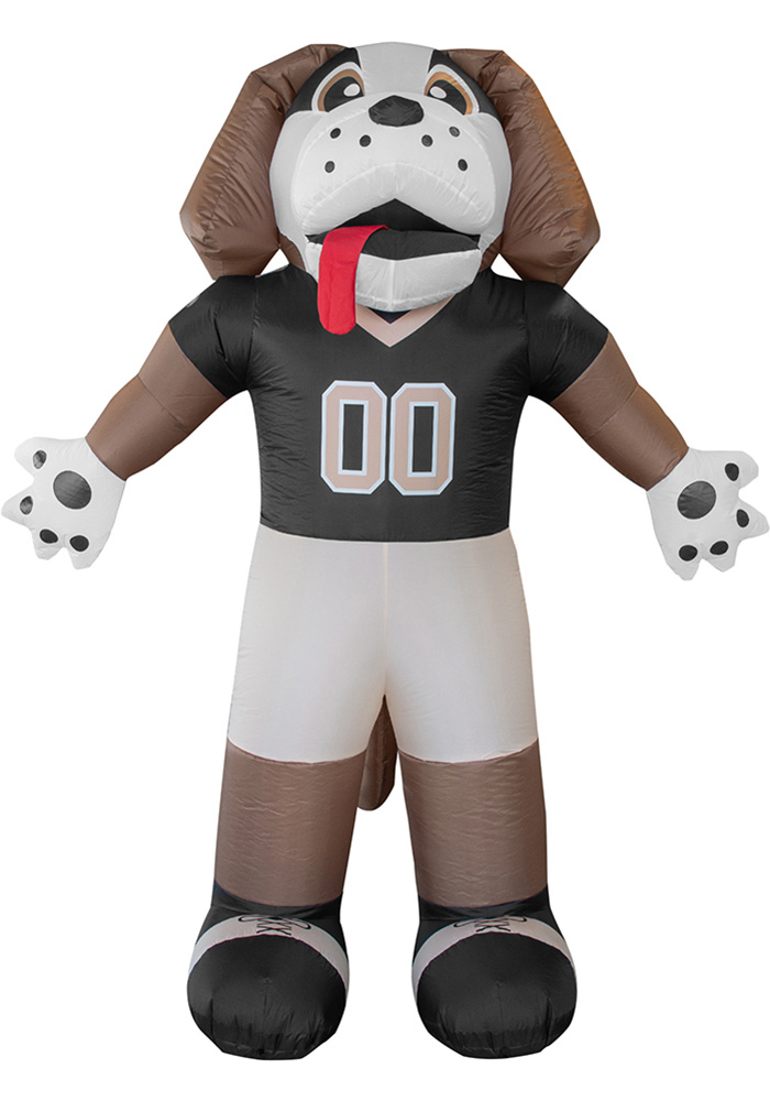 New Orleans Saints Brown Outdoor Inflatable 7 Ft Team Mascot - Image 1