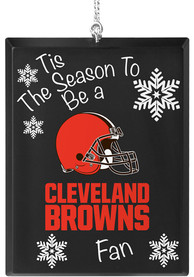 Cleveland Browns Tis the Season Ornament