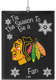 Chicago Blackhawks Tis the Season Ornament